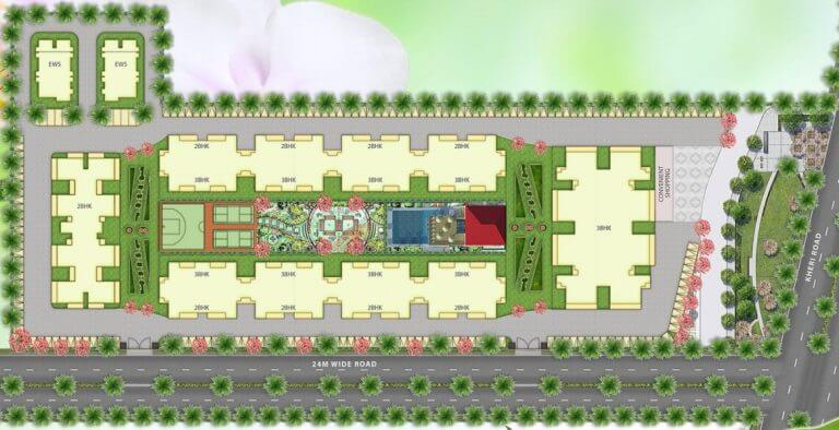 Emerald Heights Faridabad Layout Plan